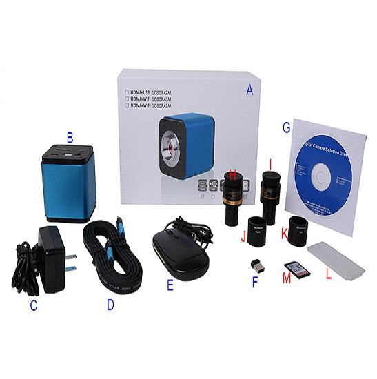 BWHC-1080B C-mount WIFI+HDMI CMOS Camera(Sony IMX178 Sensor)
