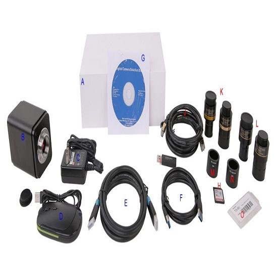 BWHC-4K16MPA 4K UHD HDMI/GigE/WiFi Multi-outputs Camera(Sony IMX183 Sensor)