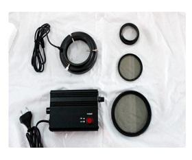 BAL2B-78P Polarizing LED ring light