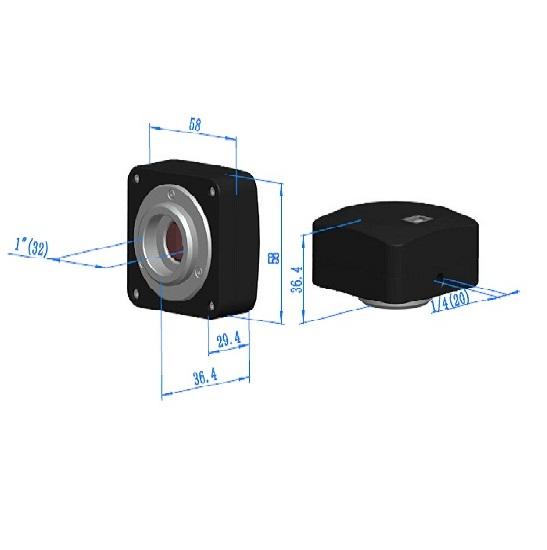 BUC1D-510BC C-mount USB2.0 CMOS Camera