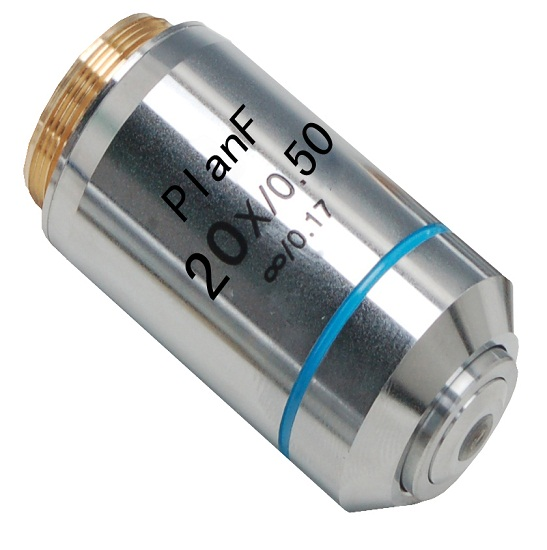 Infinite Plan Achromatic Fluorescent Objective for Olympus microscope