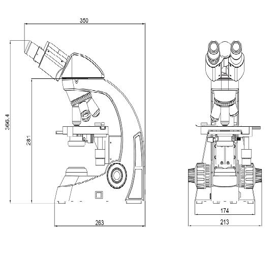 BS-2027T Biological Microscope